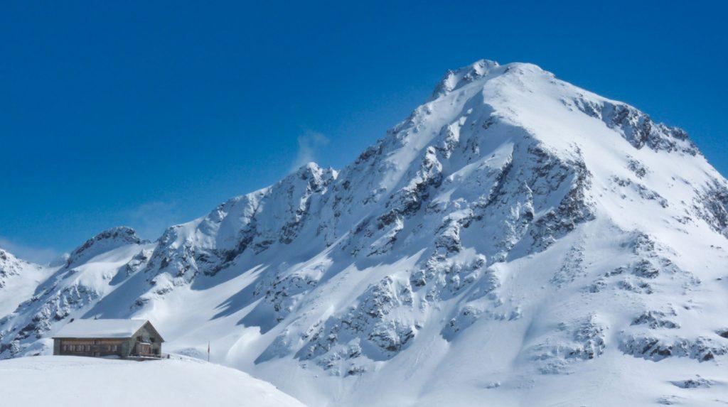 ski touring in bivio