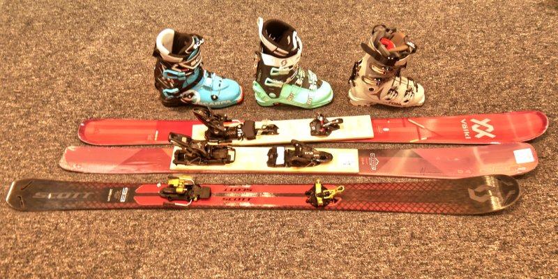 womens allrounder ski setups