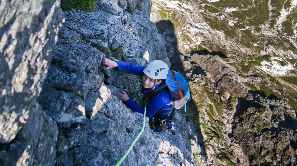 Enjoying a great days scrambling in Glen Coe Scotland