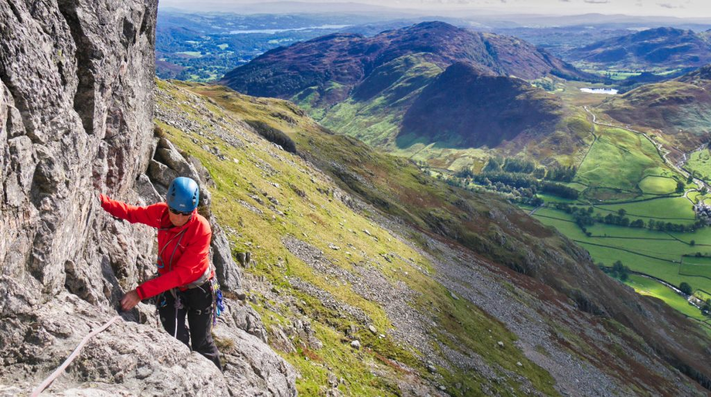 Uk Lake District rock climbing guide