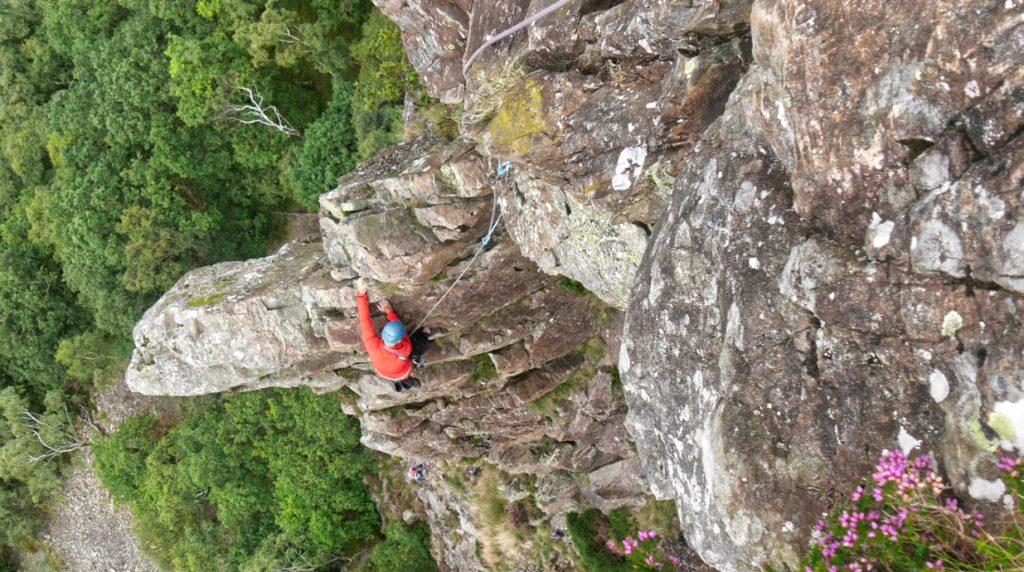 Toutdale Pinnacle - classic Lake District rock climbing