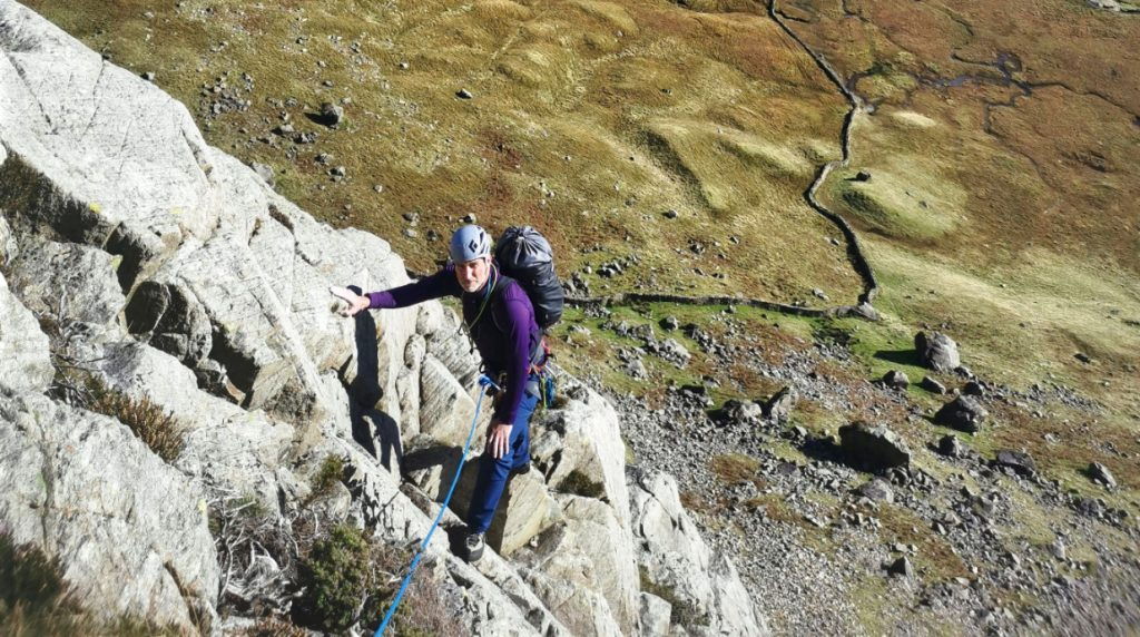 lake district scrambling course