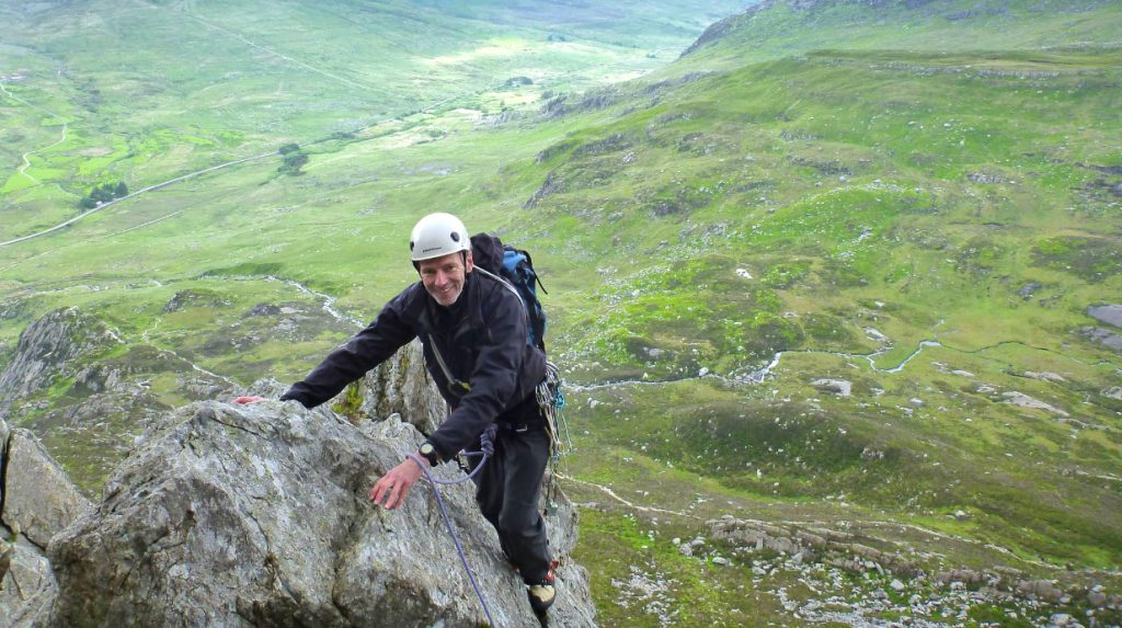 North Wales classic rock climbing guide