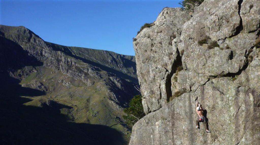 North Wales classic rock climbs