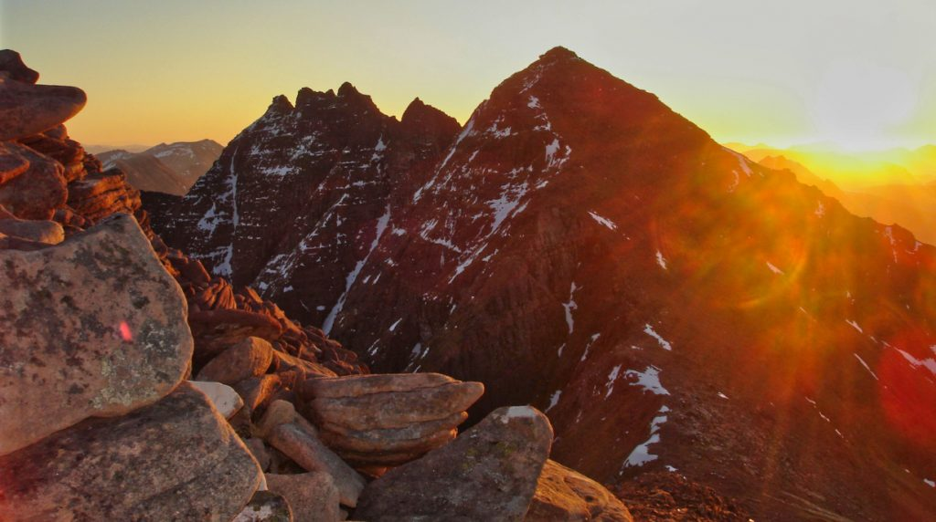 traverse an teallach on a scotland mountaineering holiday