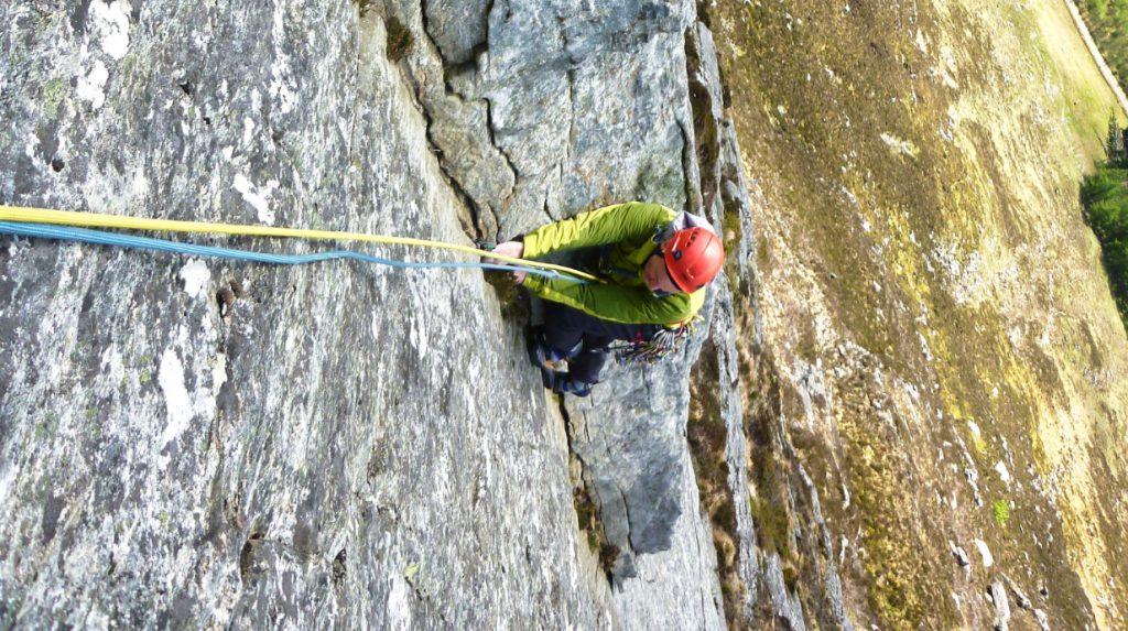 Scottish rock climbing guide