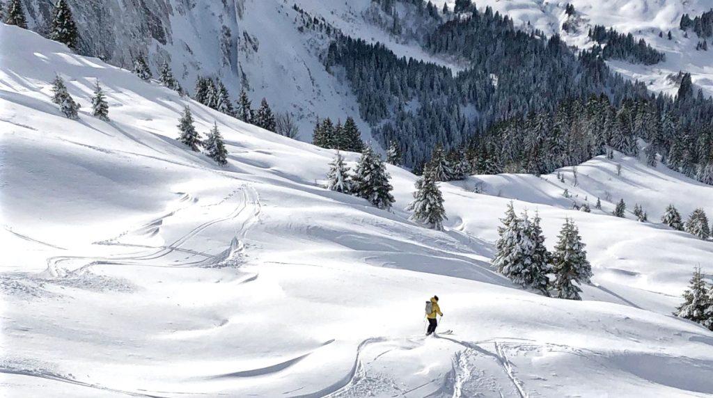chamonix off piste skiing course
