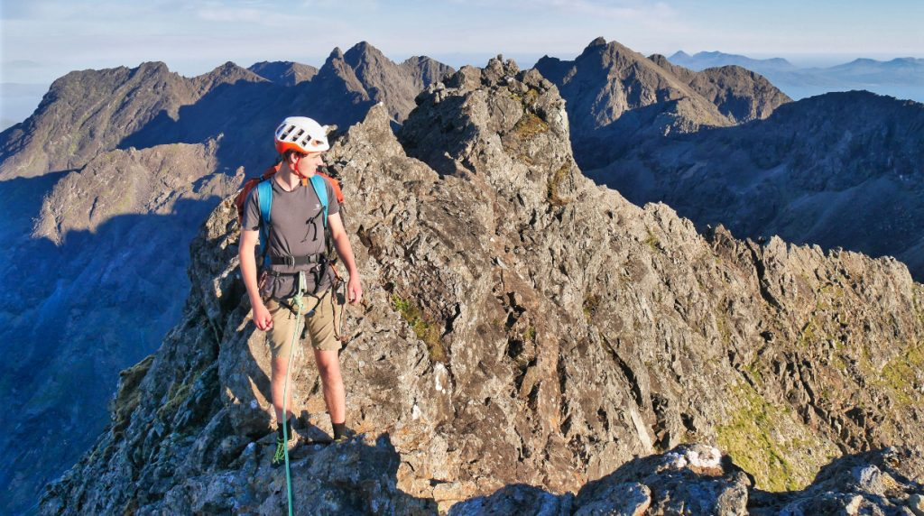 skye cuillin ridge mountain guide